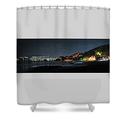 Zihuatanejo, Mexico Shower Curtain by Jim Walls PhotoArtist