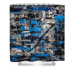 Zinger Shower Curtain