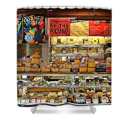 Zingermans Deli Ann Arbor  5046 Shower Curtain by Jack Schultz
