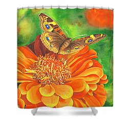 Zinnia Runway Shower Curtain