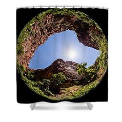 Zion Fisheye 1464 Shower Curtain