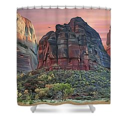 Zion National Park Sunset Shower Curtain