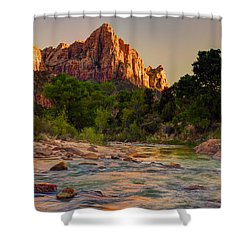 Zion Sunet Shower Curtain