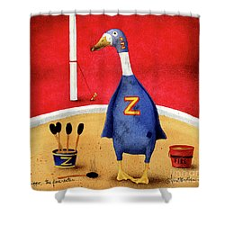 Zippo, The Fire-eater Shower Curtain