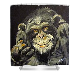 Zippy Shower Curtain