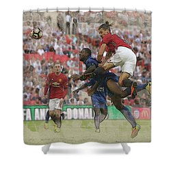 Zlatan Ibrahimovic Header Shower Curtain