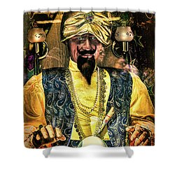 Shower Curtain featuring the photograph Zoltar by Chris Lord
