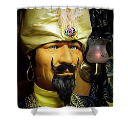 Shower Curtain featuring the photograph Zoltar by Chuck Staley