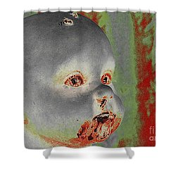 Zombie Baby Shower Curtain