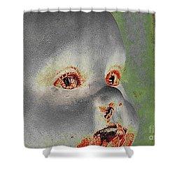 Zombie Baby Three Shower Curtain