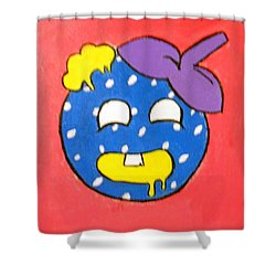 Zombie Burry Shower Curtain by Sheri Keith via Jasmine