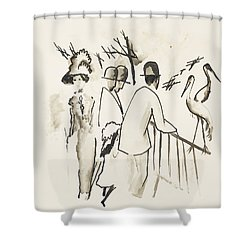 Zoological Garden II Shower Curtain