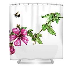 Zoom Shower Curtain by Heidi Kriel
