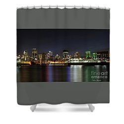 Zoom Montreal Shower Curtain