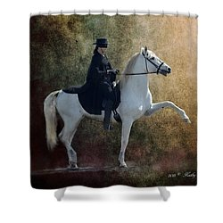 Zorro Shower Curtain by Kathy Russell