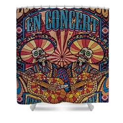 Zoufris Maracas Poster Shower Curtain