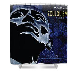 Zoulou Emperor Shower Curtain by Line Gagne