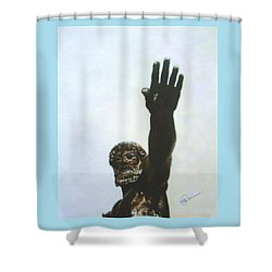 Zues Shower Curtain