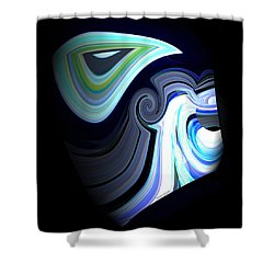 Zues Shower Curtain by Thibault Toussaint