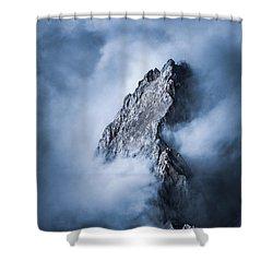 Zugspitze Shower Curtain by Yu Kodama Photography