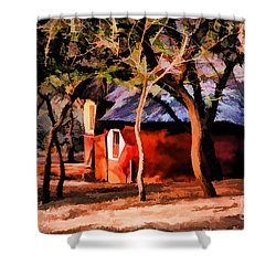 Zulu Sunset Shower Curtain