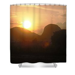 Zuma Rock, Abuja Nigeria Shower Curtain