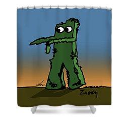 Zumby Shower Curtain