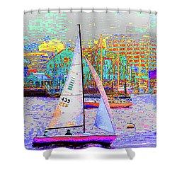1-13-2009babcdefghij Shower Curtain