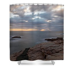 Sunrise On The Costa Brava Shower Curtain