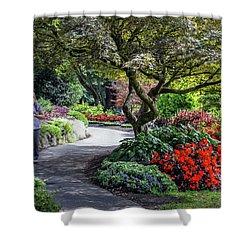 A Walk In The Garden Shower Curtain