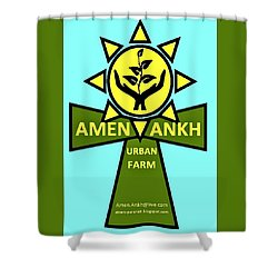 Amen Ankh Shower Curtain