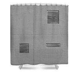 Asymmetry Shower Curtain