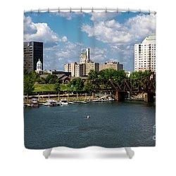 Augusta Ga - Savannah River Shower Curtain
