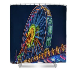 Shower Curtain featuring the photograph Big Wheel-2 by Okan YILMAZ