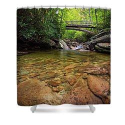 Boone Fork Bridge - Blue Ridge Parkway - North Carolina Shower Curtain