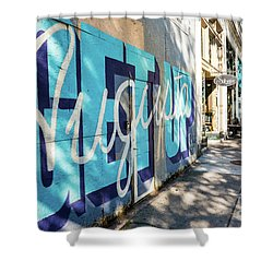 Broad Street Downtown Augusta Ga Shower Curtain