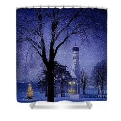 Shower Curtain featuring the photograph Christmas Eve by Edmund Nagele