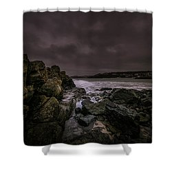Dramatic Mood Shower Curtain