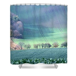 Autumn In South Moravia 1 Shower Curtain