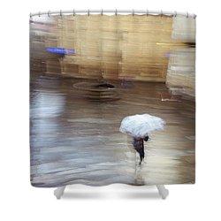 Shower Curtain featuring the photograph Gentle Rain by Alex Lapidus