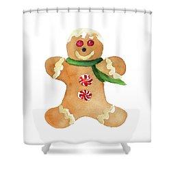 Gingerbread Man II Shower Curtain
