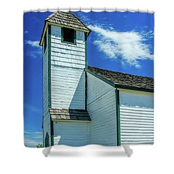 Historic Mcdougall Church, Morley, Alberta, Canada Shower Curtain