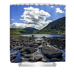 Llyn Eigiau Shower Curtain