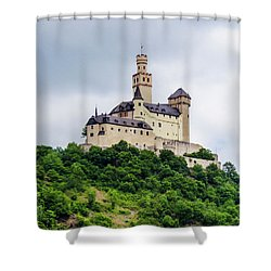 Marksburg Castle - 2 Shower Curtain