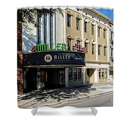 Miller Theater Augusta Ga Shower Curtain