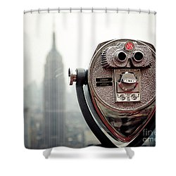 Observation Shower Curtain