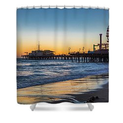 Pacific Park On The Pier Shower Curtain