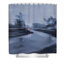 Rainy Day New Shower Curtain