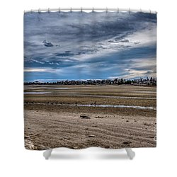 Shower Curtain featuring the photograph Right Of Way by Jon Burch Photography
