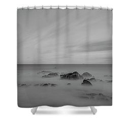 Shower Curtain featuring the photograph Rocky by Bruno Rosa